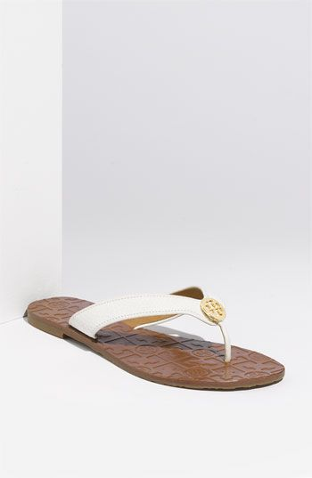288a144f5946 These will be great for summer and go with everything! Tory Burch  Thora  Sandal  available at  Nordstrom