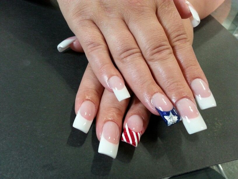 4th of July Nails by Jazzy