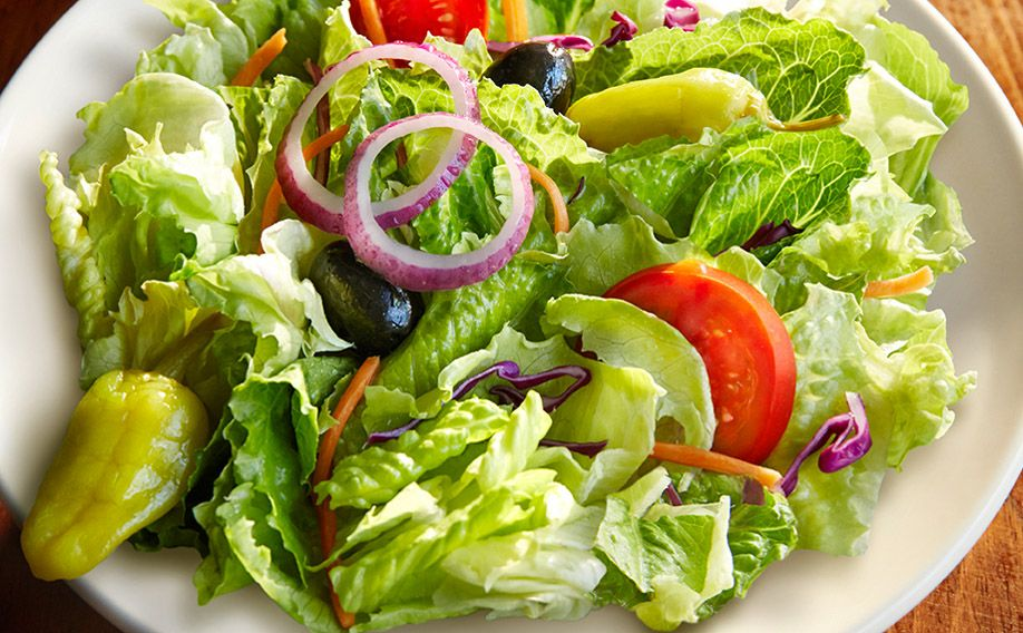Italian Garden Salad Glutensensitive menu item list olive