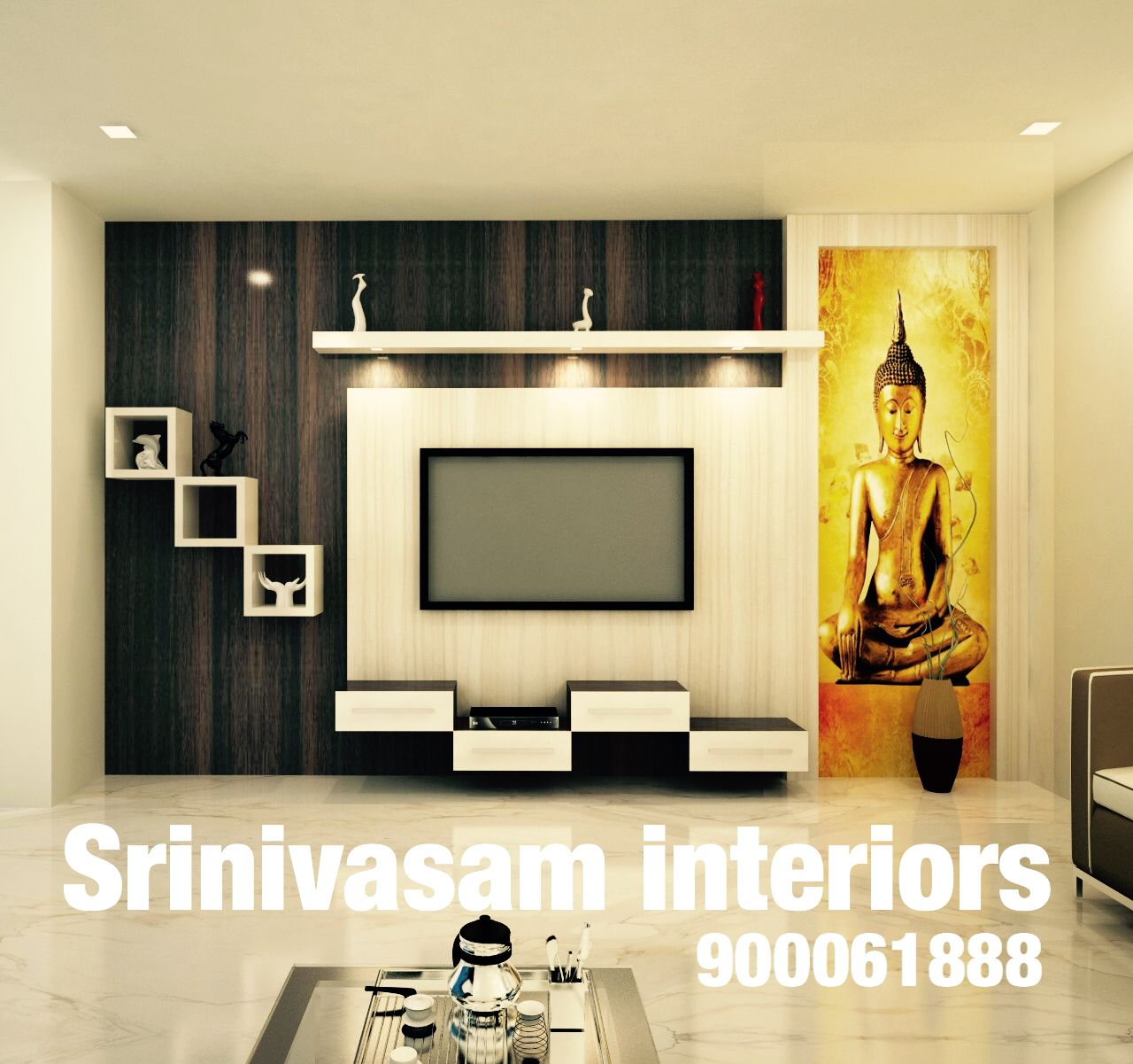 Living Room Cabinet Design In India: Pin By SRINIVASAM INTERIORS On Tv Units