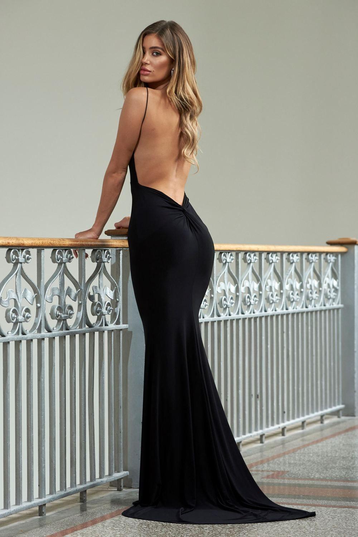 29++ Black backless prom dress ideas in 2021