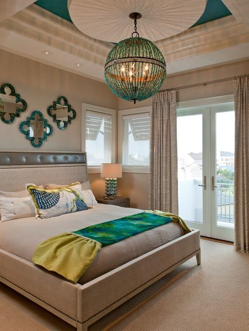 Best turquoise bedroom design ideas remodel pictures houzz