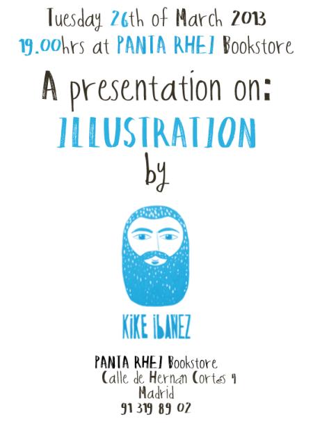 El #ilustrador del app The Selfish Giant (El Gigante Egoísta), mañana en Panta Rhei