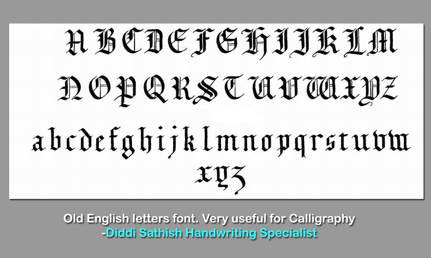 1000+ images about calligraphy fonts on Pinterest | Fonts, Best ...
