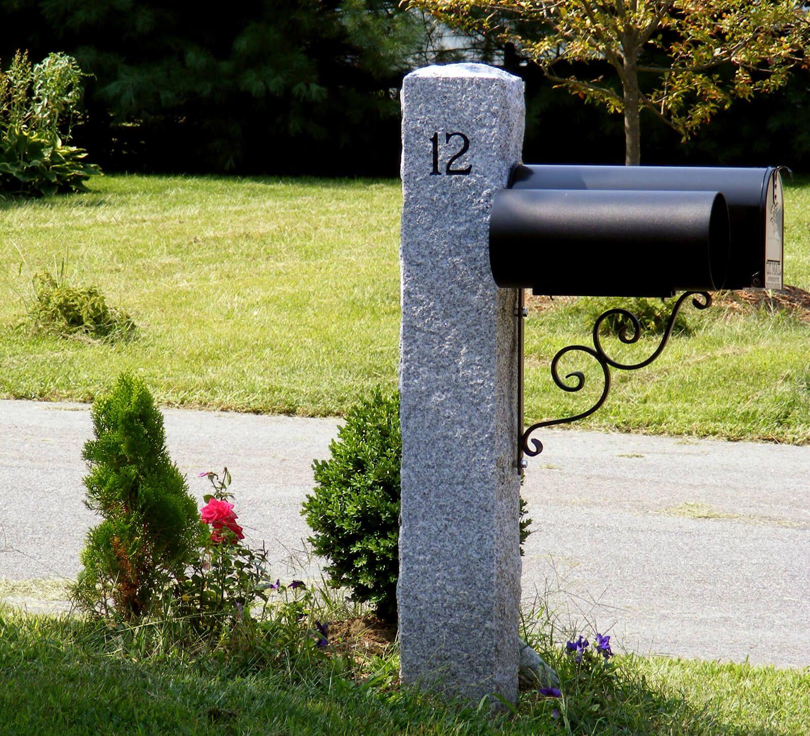 Granite Posts Swenson Granite Granite Natural Stones Outdoor