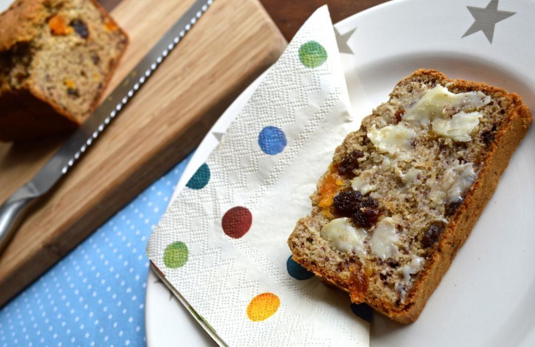 Fruity Banana Bread Baby Food Recipe From Organix Recipes Baby Food Recipes Food