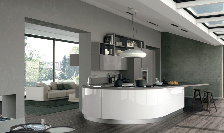 Clover 01 By Cucine Lube Kitchen Inspiration Modern Interior Design Kitchen Peninsula Kitchen Design