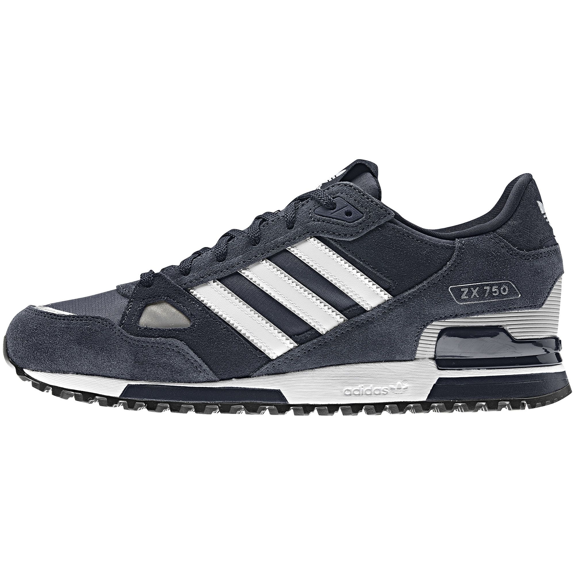 on sale 65677 8d141 Adidas ZX 750 New Navy   Dark Navy   White