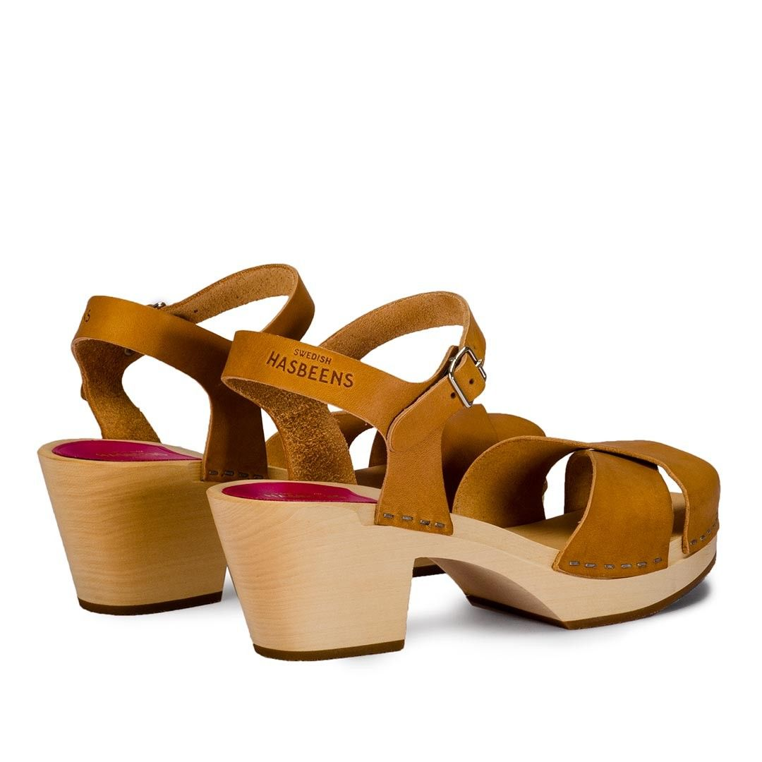 Zapatos marrones Swedish Hasbeens para mujer Cómodo en línea Proveedor más grande en venta En Venta Barato Auténtico Envío gratis de calidad 2018 precio más nuevo barato wWTf7e