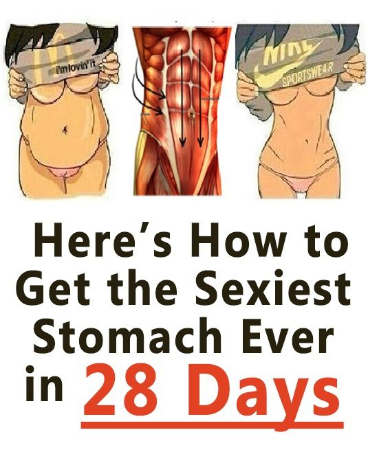 How to get sexy belly