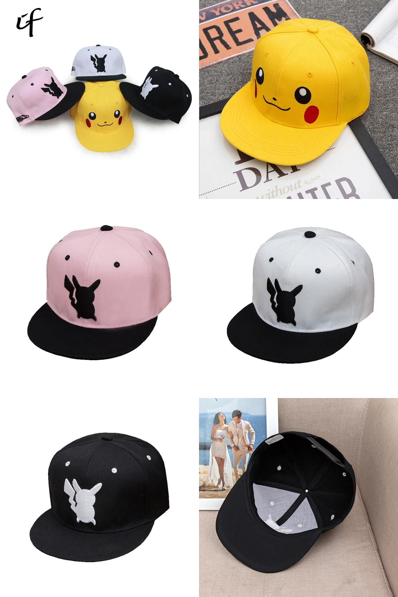 43cb707f80e  Visit to Buy  Pokemon Go Cosplay Cap Adult Kids Bone Masculino Hip Hop Dad