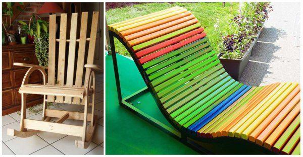 europaletten holz paletten möbel bastelideen DIY cool modern bunt - paletten und holz diy