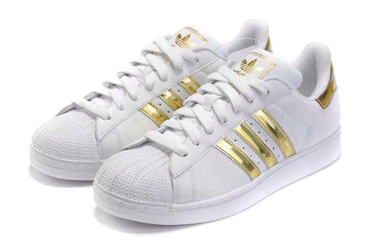 adidas mujer zapatillas doradas
