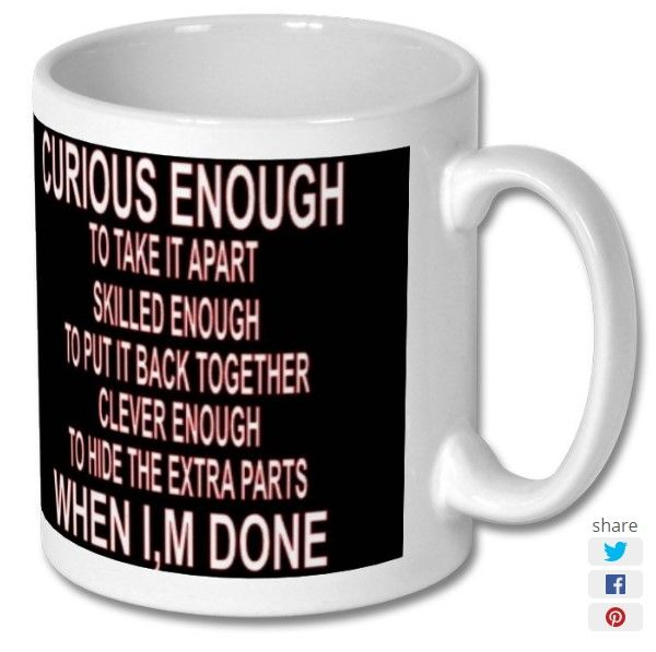 New product 'Put It Back Together Printed Mug' added to East Yorkshire Gifts! - £6.99