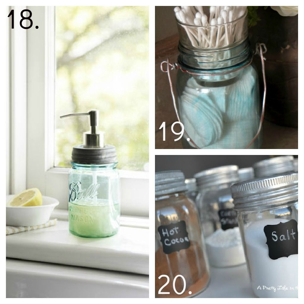 How To Decorate Mason Jars Brilliant 23 Crafty Ideas For Mason Jars  No One Ever Got Poorgiving Decorating Design