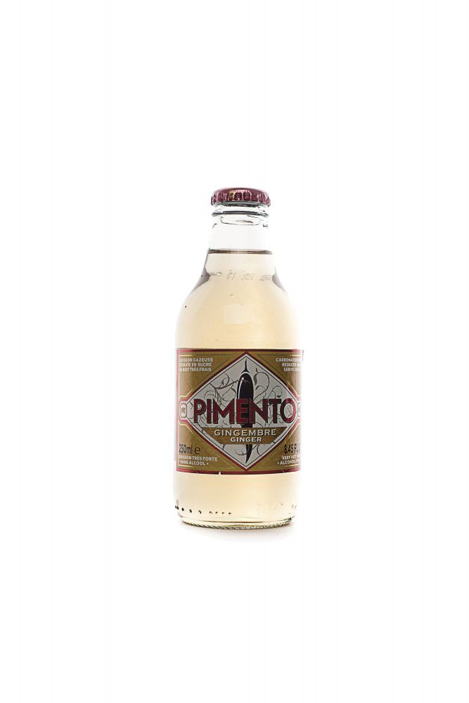 Pimento spicy ginger ale