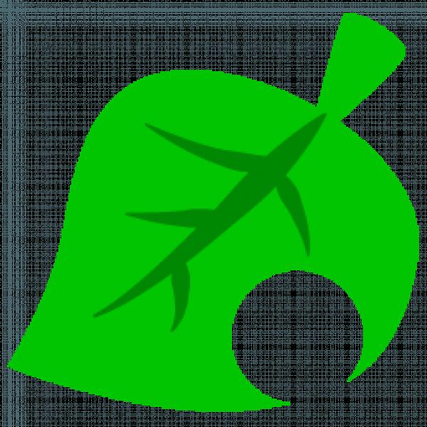 animal crossing leaf icon