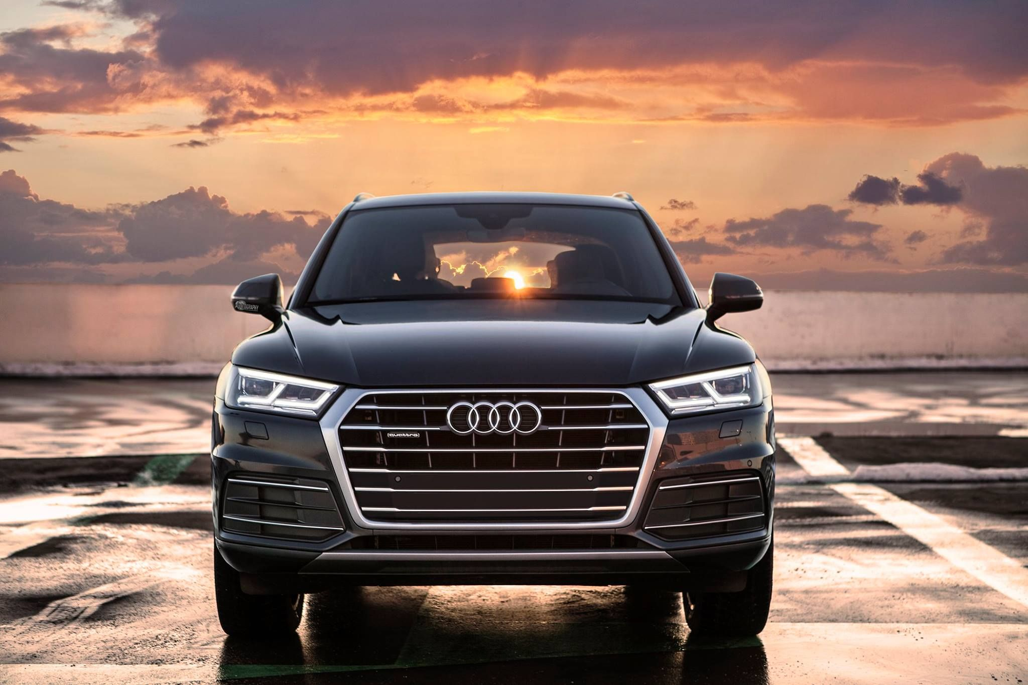 Stealing The Sun From Sunset Audi Q By Auditography Nuova Audi - Sunset audi