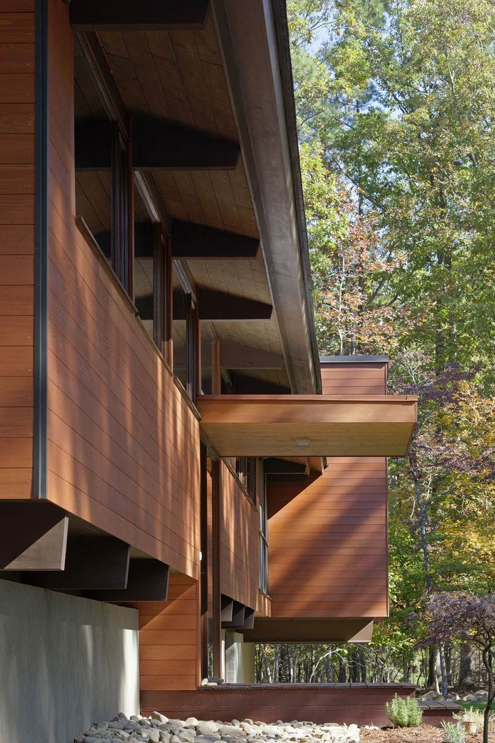 Deck House Renovation In Chapel Hill North Carolina Places To