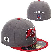 Men's New Era Tampa Bay Buccaneers Customized Onfield 59Fifty Football Structured Fitted Hat