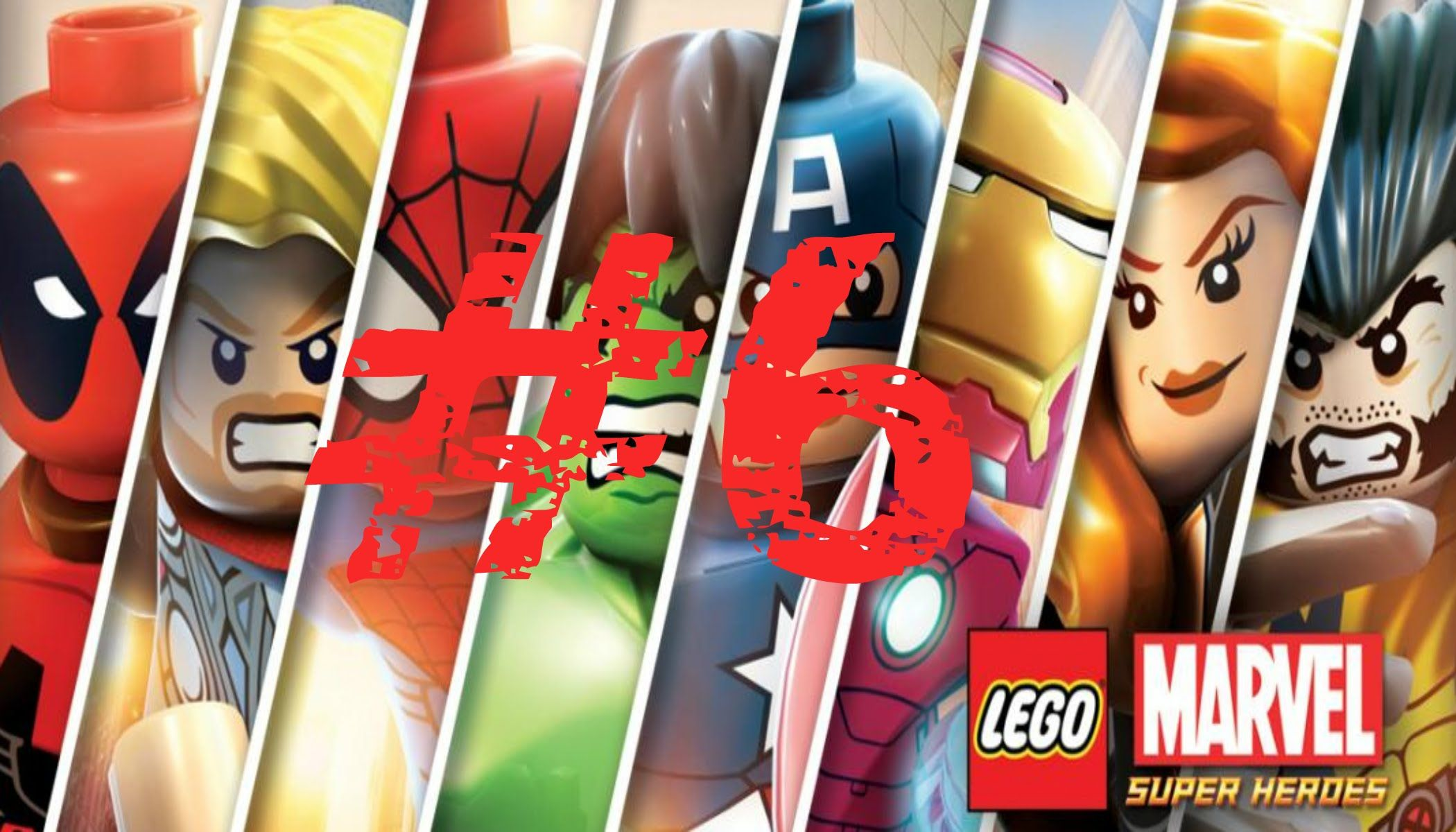 LEGO Marvel Super Heroes Walkthrough HD PART 6 | LEGO Marvel