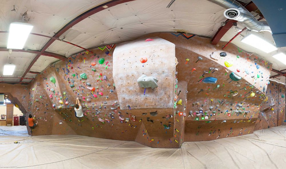 Stone Gardens Seattle WA the Realm south bouldering wall