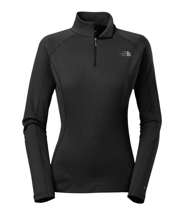ff9fc6ec9 Women's warm long-sleeve zip neck   SKI TRIP   Thermal base layer ...