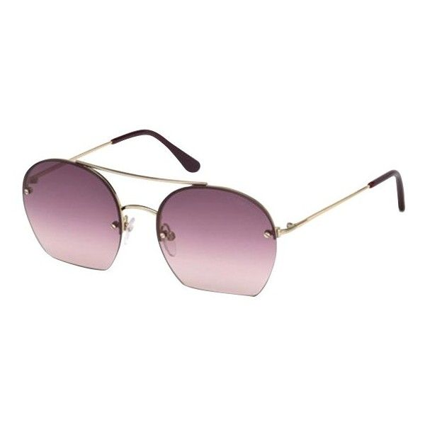 5e72783031 TOM FORD FT0506 Antonia Oval Sunglasses