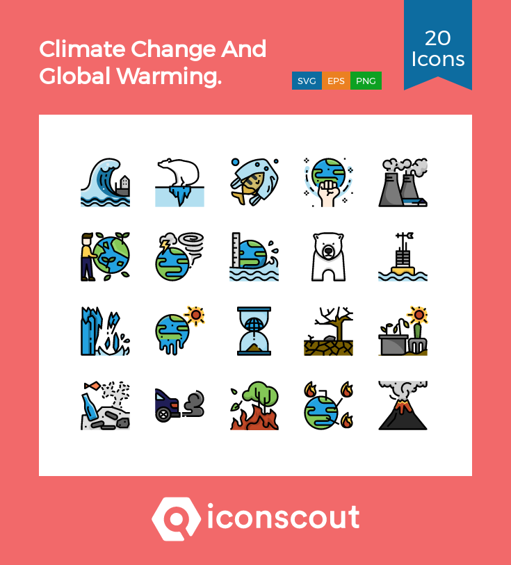 Download Climate Change And Global Warming Icon Pack Available In Svg Png Eps Ai Icon Fonts Global Warming Climate Change Climates
