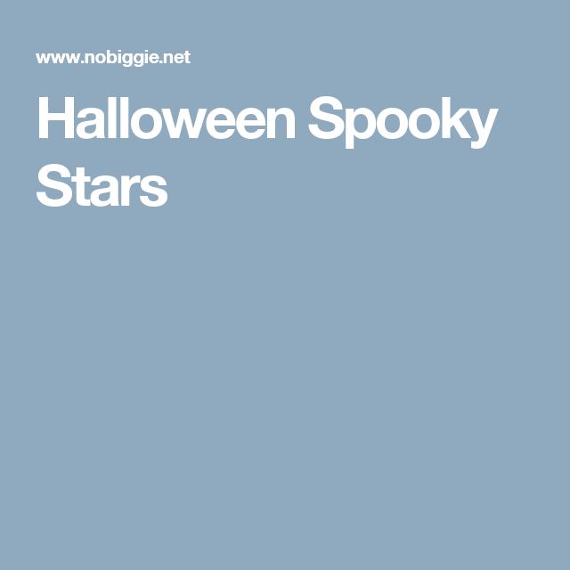 Halloween Spooky Stars
