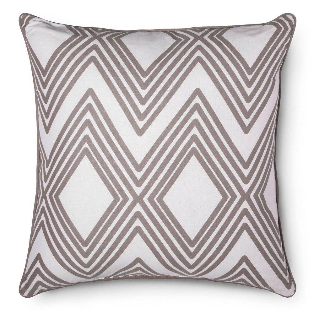 Large diamond throw pillow room essentials earth gray pillow
