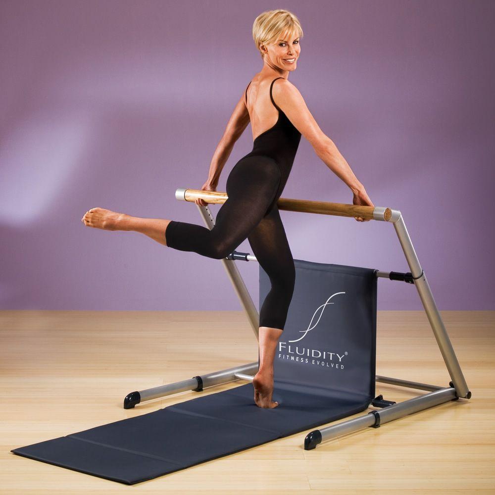 Fluidity Fitness Evolved Ballet Bar Workout System