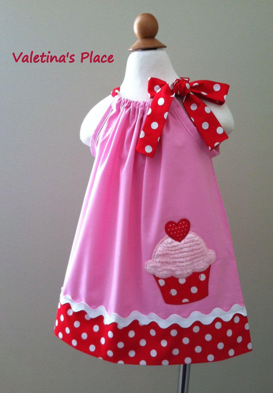 Adorable Cupcake Pillowcase dress | Diy nähen, Sommer und Schnittmuster