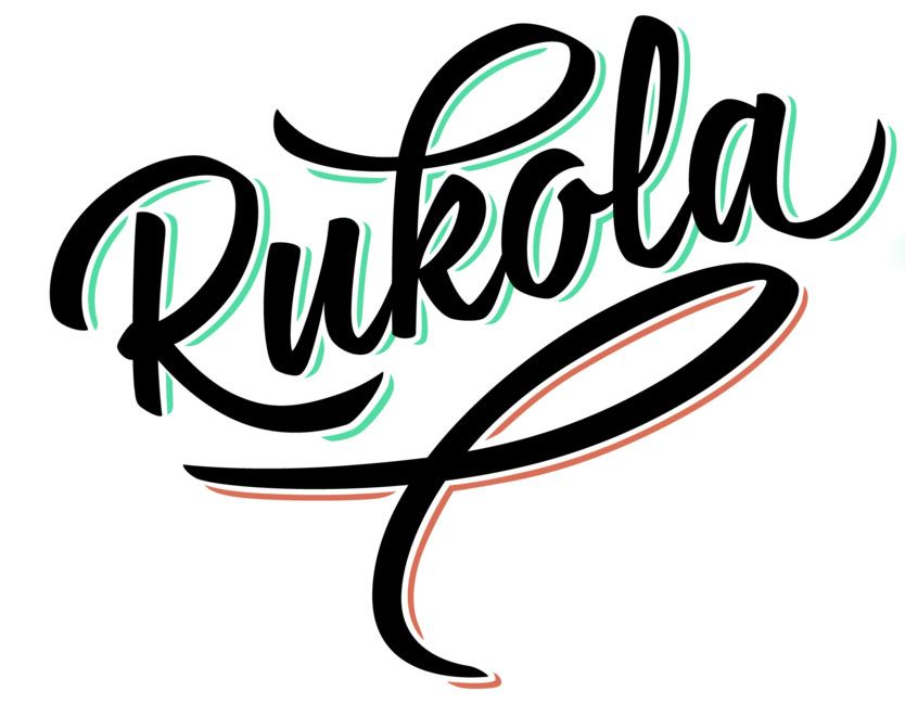 Rukola brush script font is free typography fonts