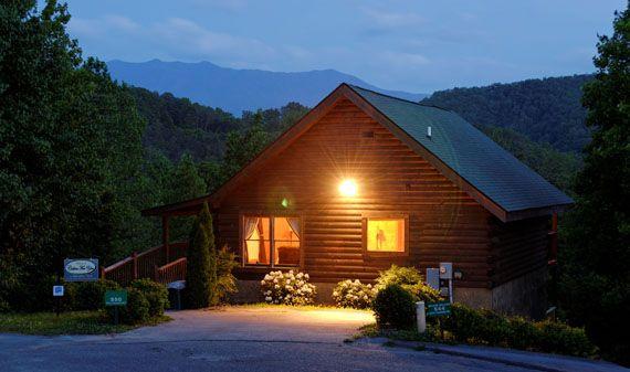 Edge of paradise 1 bedroom 2 bathroom cabin rental in - 1 bedroom cabin rentals gatlinburg tn ...