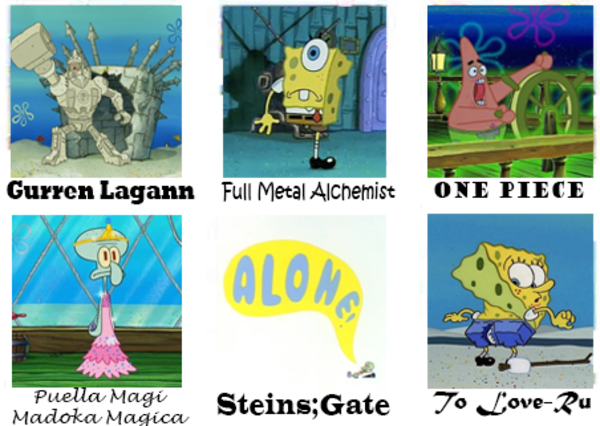 No wonder spongebob is the best anime Anime, Anime