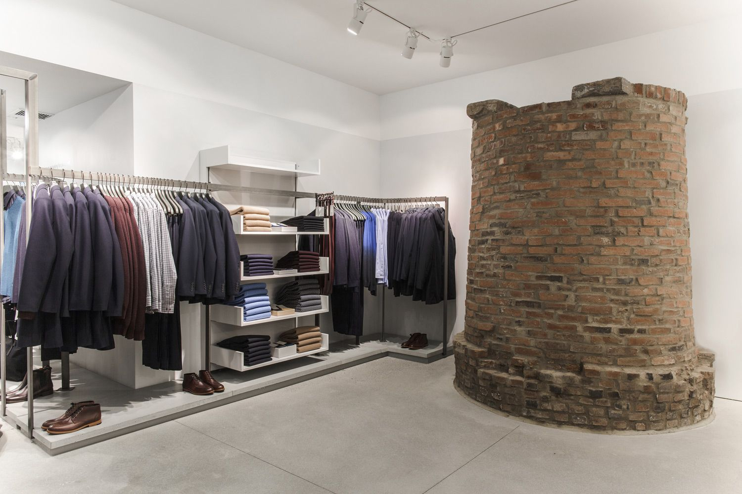 Inside The COS New York Flagship With Head Of Menswear, Martin Andersson. http://www.selectism.com/2014/12/05/cos-new-york-store/
