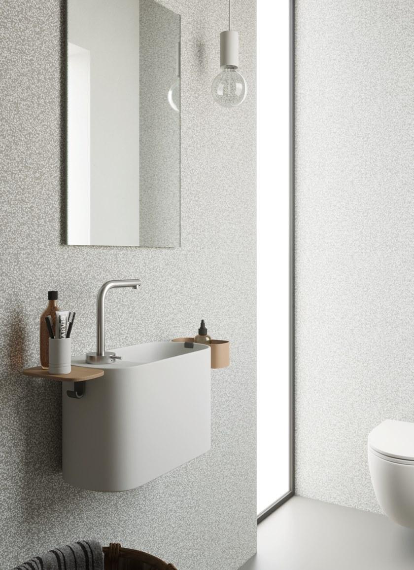 Photo of P'TIT | Wall-mounted handrinse basin By Rexa Design design Monica Graffeo