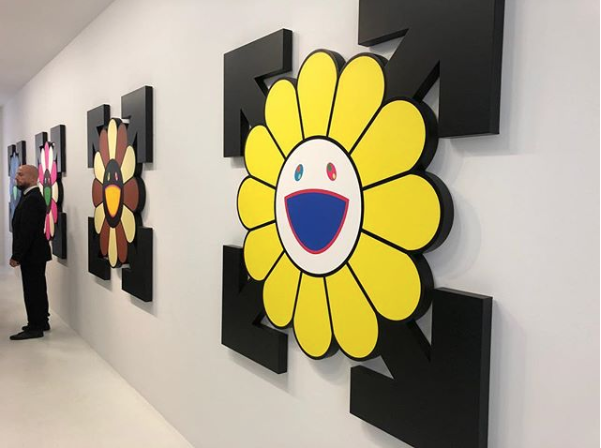04d580e24a0 New exhibition ''TECHNICOLOR 2'' by Takashi Murakami x Virgil Abloh at @ Gagosian in Paris, on view until the 28th July 2018.