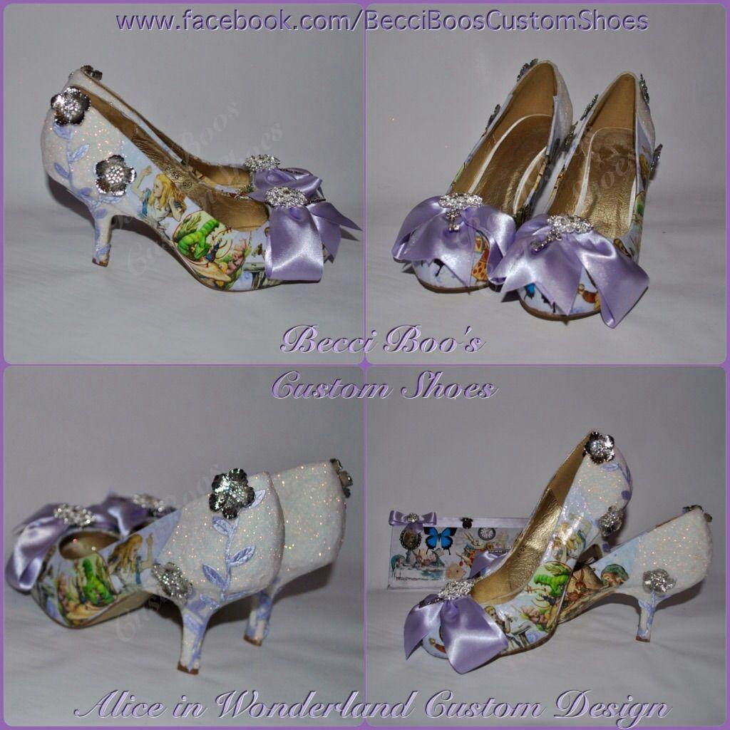 Lilac Wedding Alice In Wonderland Shoes Www Facebook Com