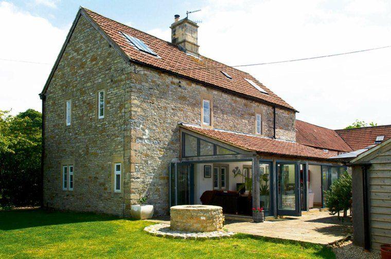 Idée agrandissement maison  50 extensions esthétiques Verandas - prix pour extension maison