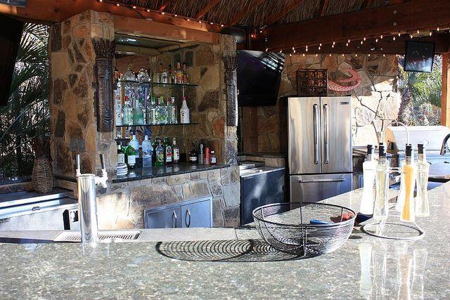 Outdoor Kitchen Bar Lewisville Texas With Images Outdoor Kitchen Bars Outdoor Kitchen Outdoor Bbq