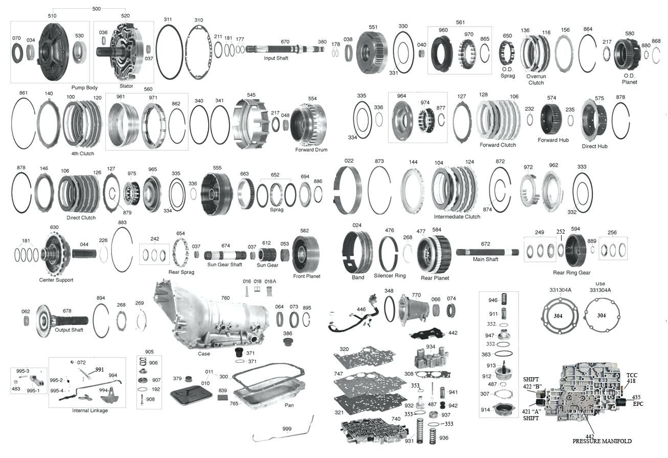 Parts Diagram For 4l80 E Transmission Yahoo Search Results Yahoo Search Results Turbo 350 Transmission 350 Transmission Powerglide Transmission