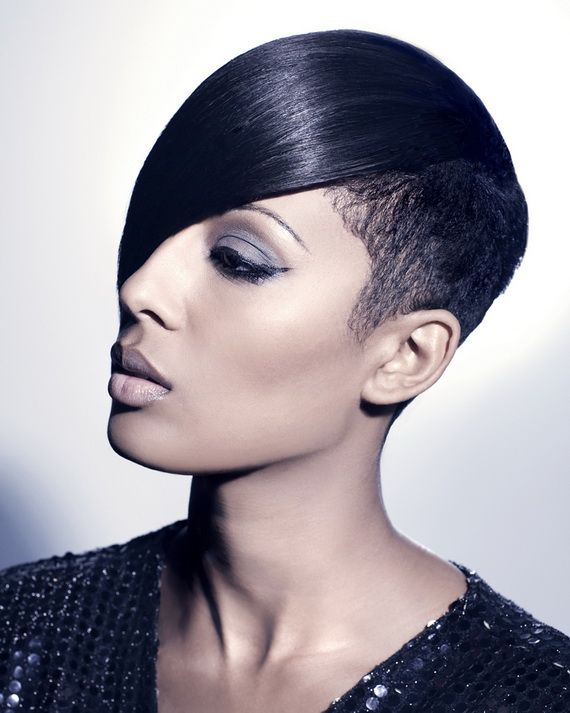 Groovy Black Women Short Hairstyles And Hairstyles On Pinterest Hairstyles For Men Maxibearus