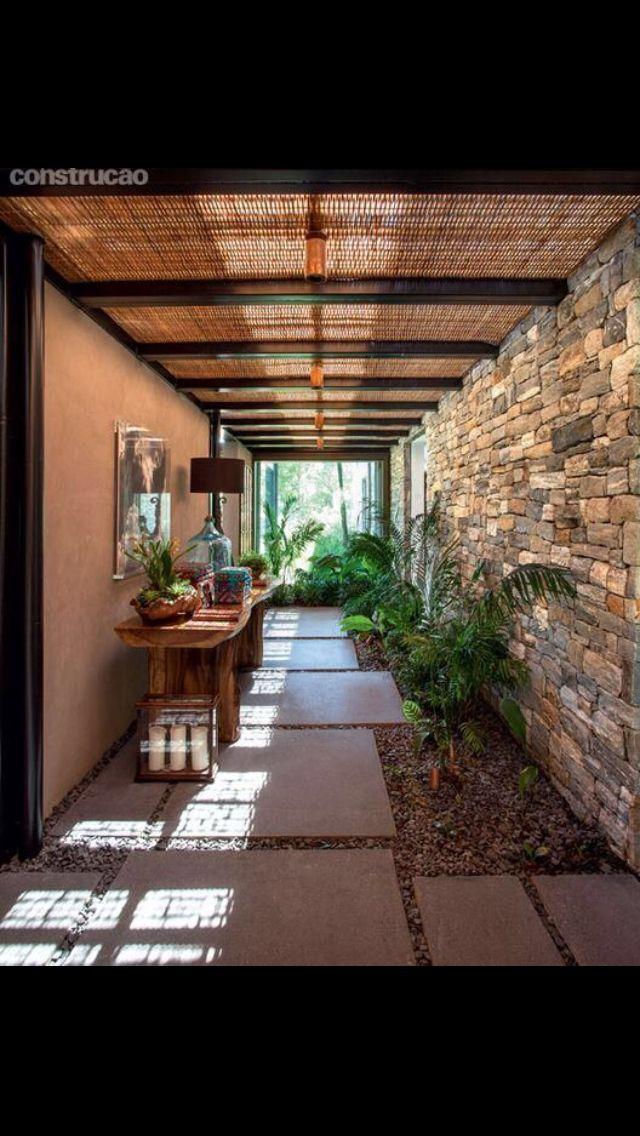 Le Reve Idee Portico Giardino Interno Patii