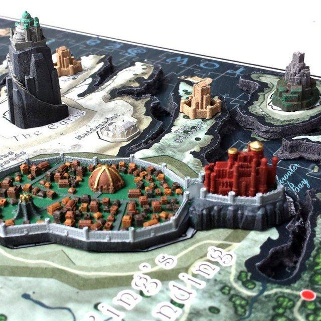 Game Of Thrones 4d Cityscape Puzzle 19 50 Map Puzzle Westeros Map Westeros