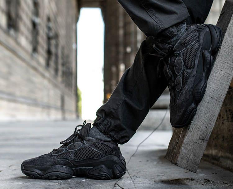 47488eea4 Kanye West x Adidas Yeezy Desert Rat 500 Utility Black Men And Women Sneaker