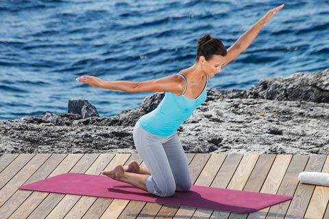 Gewinnspiel Quiz:  Pilates für einen gesunden Rücken