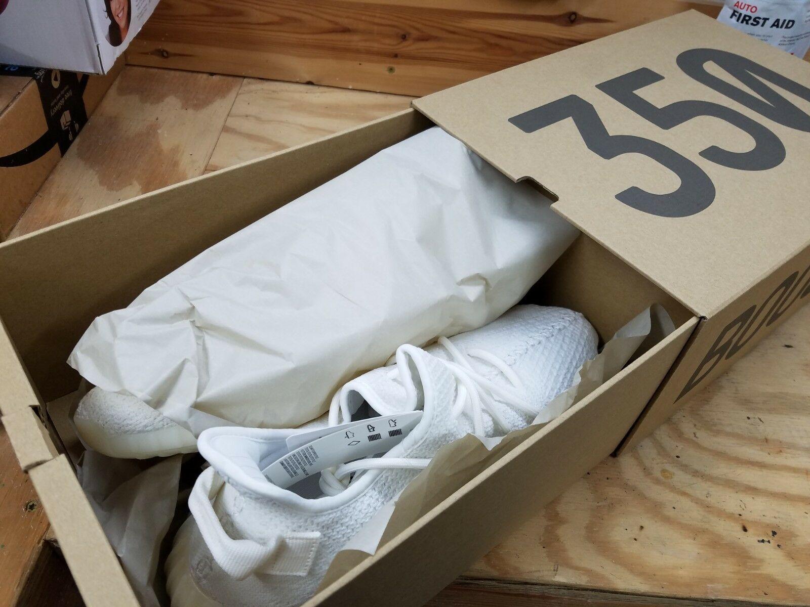 0c2b8b8a14a58 Adidas Yeezy Boost 350 V2 - Triple White (CP9366) - SIZE 12