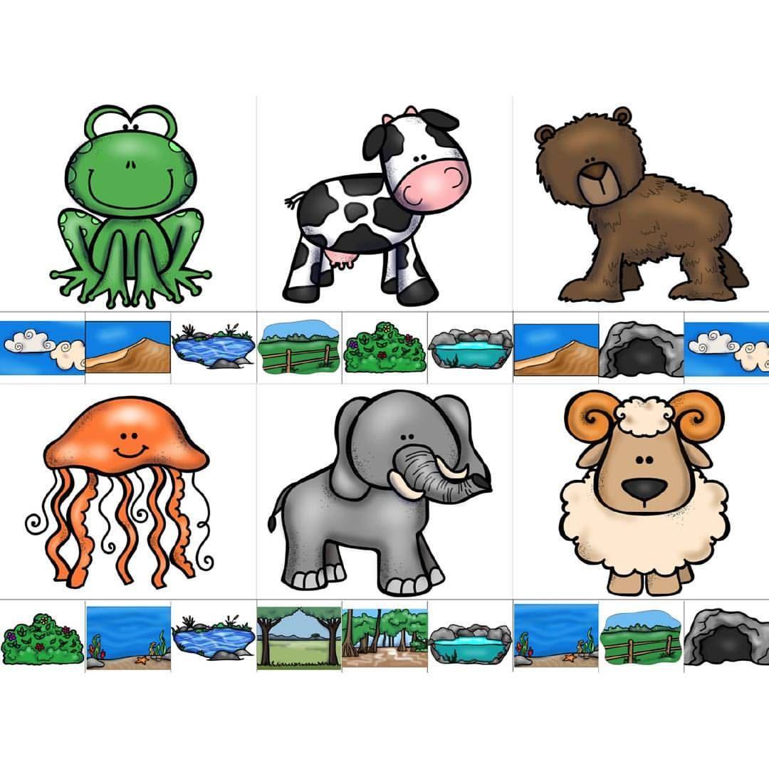 Gunaydin Yasam Alanlarina Gore Hayvanlar Pvc Kaplayip Dogru Yerlere Mandal Takma Seklinde Kullabilirsiniz Gorsellere Pr Preschool Mario Characters Comics